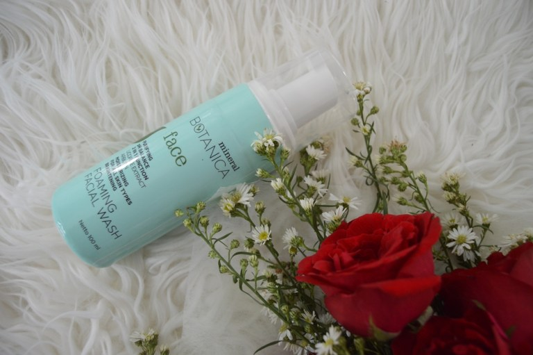 Mineral Botanica Foaming Facial Wash