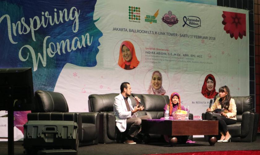 Peran Seorang Kanker Survivor yang Sangat Menginspirasi di Acara Inspiring Women Bersama K-Link