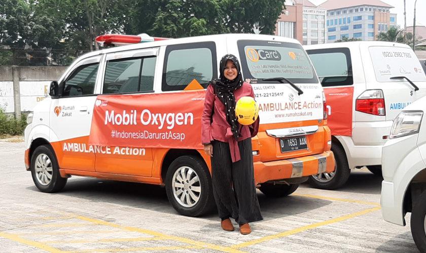 Aksi Peduli dari Rumah Zakat untuk Bencana Karhutla