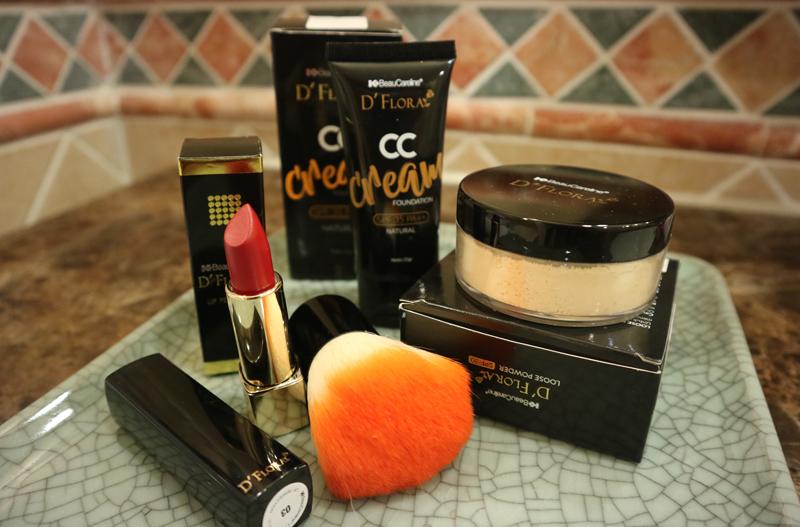 produk makeup flawless D'Flora
