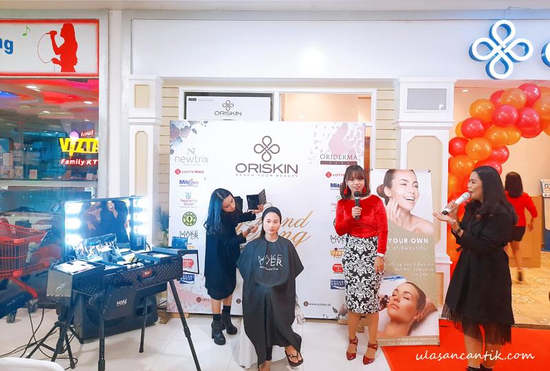 opening store Oriskin Bintaro