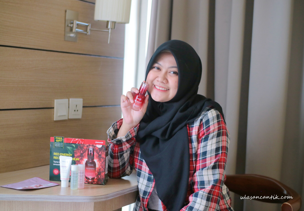 Review Mamonde Red Energy Recovery Serum Kulit Jadi Halus dan Glowing