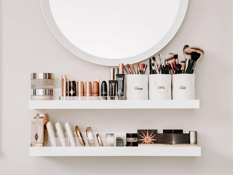 Ladies, Ikuti 10 Trik Menata Kosmetik Agar Lebih Rapi dan Terawat!
